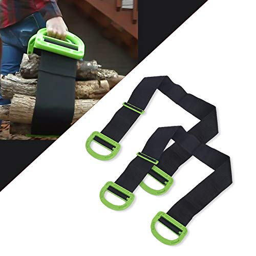 Moving Belt, Single or Two-Person Retractable Carrying Straps with Handles,...