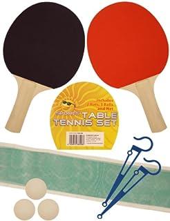 4b9be5477d113 Ensemble de tennis de table pour 2 joueurs avec filet, 2 raquettes et 3  balles