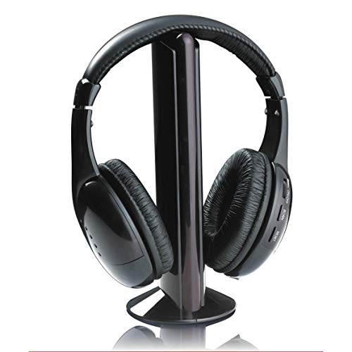 Akai CW04 Headset Binaural Kopfband Schwarz - Headsets (Medien/Kommunikation, Binaural, Kopfband, Schwarz, Drehregler, Verkabelt & Kabellos)
