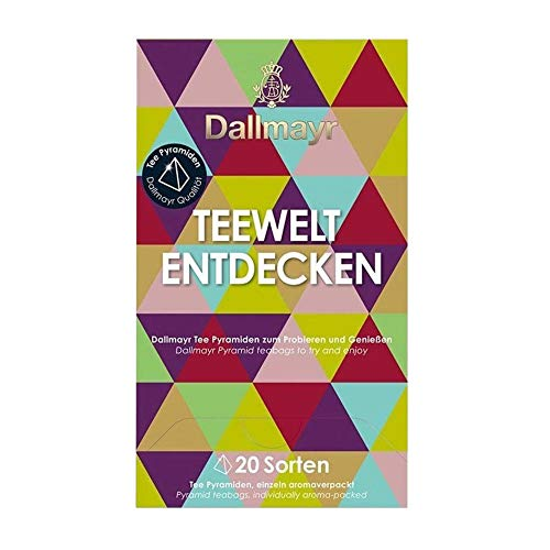 Dallmayr Teewelt Entdecken, 20 Pyramidenbeutel, 1er Pack