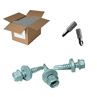 """25lb 12x2"""" Roofing Screw - Drill point"""