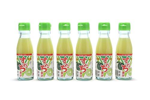 JA全農とくしま 100%すだち果汁 100ml×6本セット