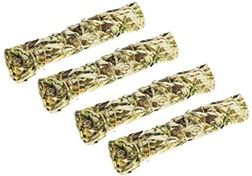 Mugwort (Black Sage) Smudge Sticks Pack of 4 Four inch