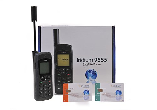 Téléphone satellite Iridium 9555 avec un libre carte SIM prépayée
