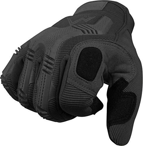 Vollfinger Allround Einsatzhandschuhe für Sport und Outdoorbereich Farbe Schwarz Größe M