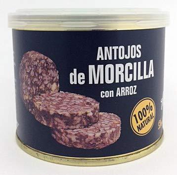 Morcilla Burgos, pack de 3ud x 200 g - Total 600g