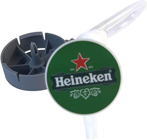 Juego de tubos Beertender para tirador de cerveza – Bomba de cerveza para conectar su barril a la bomba {máquina Krups/SEB} (10 tubos)