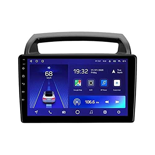 Reproductor multimedia estéreo para automóvil con pantalla táctil HD de 9 pulgadas Radio automática para Kia Carnival 2006-2014 Unidad principal Navegación con GPS Wifi 4G Bluetooth FM SWC Receptor d