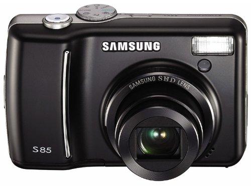 Samsung S85 Digitalkamera (8 Megapixel, 5-Fach Opt. Zoom, 6,4 cm (2,5 Zoll) Display) schwarz