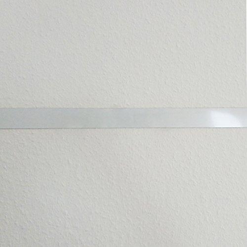 Stahlblech Magnet-Wandleiste als Haftgrund für Magnete I 5 Meter Magnetleiste selbstklebend, zuschneidbar I mag_142