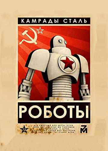 World of Art Global Póster con Propaganda del Servicio