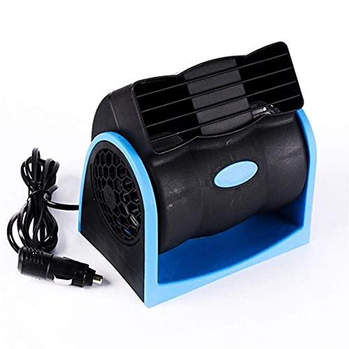 HRRF Quiet Compact Desk Fan,12V Portable Car Air Cooler Fan Automotive Ventilator Low Noise Refrigeration Turbine Fan Radiator Convenient