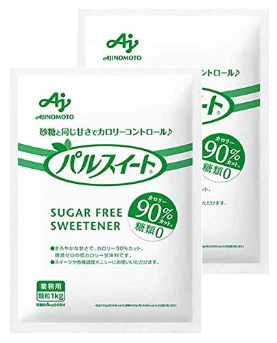 味の素 パルスイート カロリー90%カット 1kg 袋 ×2 セット
