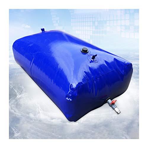 Almacenamiento de agua Recipiente de Agua de Gran Capacidad Vejiga de Agua de PVC Buen Sellado sin BPA al Aire Libre Patio Tamaño Personalizado ZLINFE (Size : 1500L/1.8x1.2x0.7M)