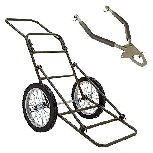 Kill Shot 500 lb Capacity Game Cart with Tow Bar