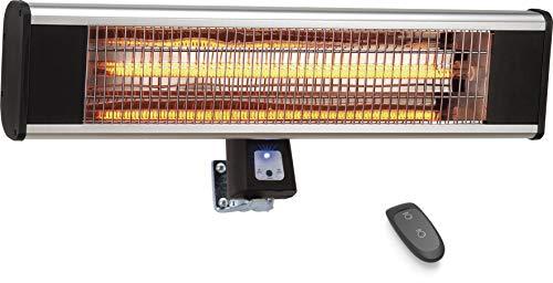 LACOR Calentador ELECTRICO, Metal, Negro, 1800 W