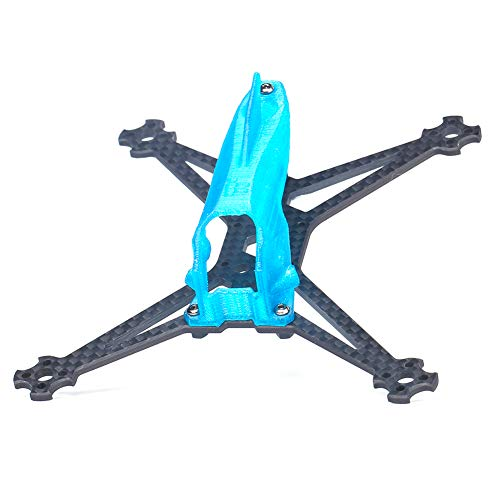 iFlight TurboBee 136RS V2 136mm 3 Inch FPV Frame Carbon Fiber Racing Drone Quadcopter Frame Kit with 3D Printing Canopy TPU