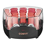 Conair Compact Multi-Size Hot Rollers; Pink/Coral (packaging may vary)