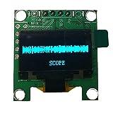 Casinlog 0.96 pulgadas OLED Espectro de Música Analizador de Pantalla PC Amplificador de Potencia Indicador de Audio Música Rhythm Analyzer VU Meter