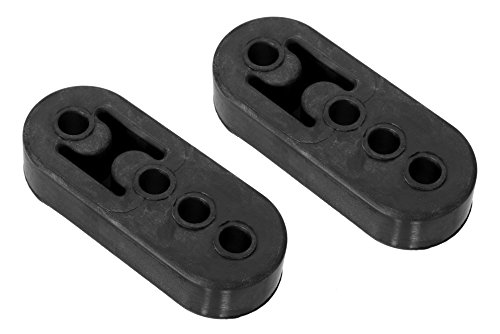"""Exhaust Mount Rubber Insulator 1//2/"""" Hole Rod Support 1-3//4/"""" center to center"""