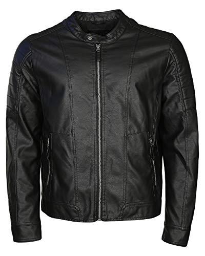 MUSTANG Herren Biker Pu-Jacke Domingo XL Black