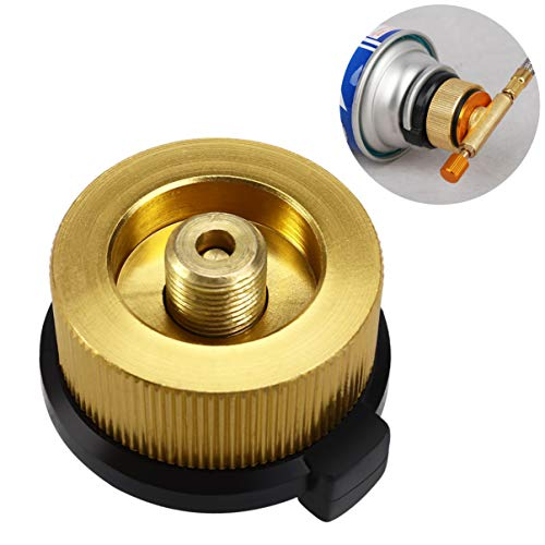 Fantastic Deal! VORCOOL Gas Bottle Adapter Camping Stove Connector Nozzles Connection Transfer for O...