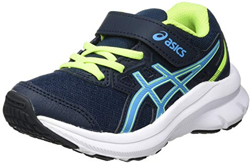 ASICS JOLT 3 PS, Scarpe da Corsa, French Blue/Digital Aqua, 30 EU