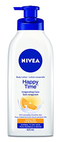 NIVEA Happy Time Body Lotion, 625mL