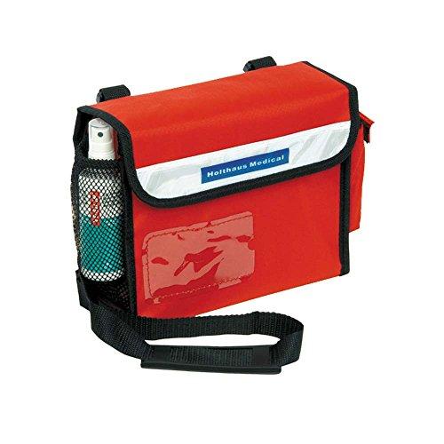 Sanitätsumhängetasche, Erste Hilfe Tasche, Notfall, befüllt DIN 13160, 24x19x8cm