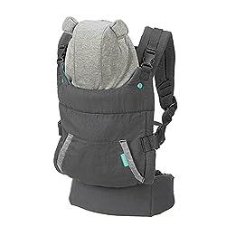 Infantino Cuddle Up Ergonomic Hoodie Carrier, Grey,Infantino,200-192