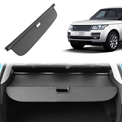 OREALTOOL Protezione Coperchio Portabagagli Copertura Bagagliaio Auto Baule Posteriore Pacco Ripiano Portaoggetti Cargo Cover Nero per Land Rover Range Rover Sport 2014-2018