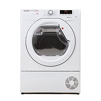 Hoover DNCD813BC Aqua Vision 8kg Condenser Dryer in White B Rated