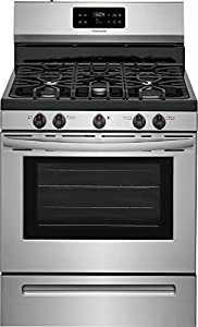 Frigidaire FFGF3054TS 30 Inch Gas Freestanding Range with 5 Sealed Burner Cooktop, 5 cu. ft. Primary Oven Capacity, in Stainless Steel
