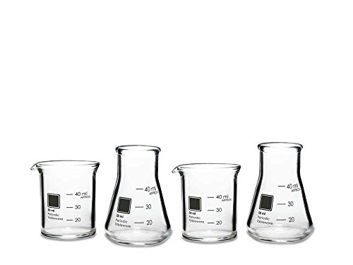 Periodic Tableware Laboratory Shot Glasses