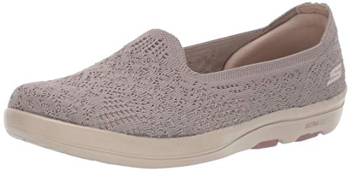 Skechers Women's ON-The-GO Bliss - 16512 Shoe, Taupe, 9 M US