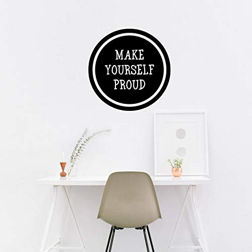 Maak jezelf trots - Inspirational Quote Wall Art Decal - 20