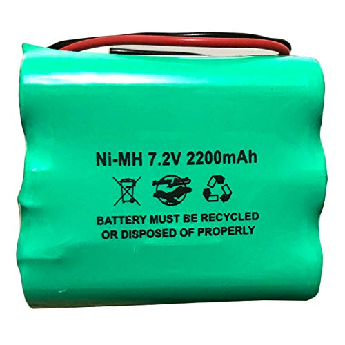 2GIG-BATT1 228844 6MR2000AAY4Z 7.2v 2200mAh Ni-MH Battery Pack for Alarm System 6MR1600AAY4Z Corun GoControl