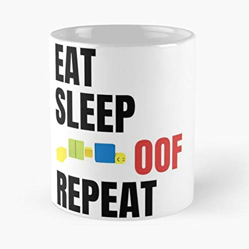 - Roblox Eat Sleep Oof Repeat Noob Meme Gamer Gift Classic Mug 11 Ounces Funny Coffee Gag Gift.the Best Gift For Holidays-miinviet.