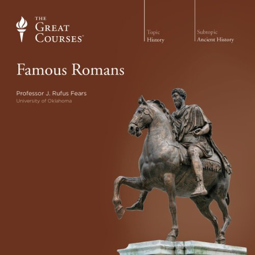 Famous Romans audiobook cover art