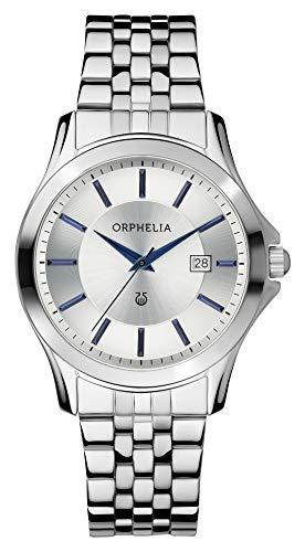 Orphelia Herren-Armbanduhr Galaxy Analog Quarz Edelstahl