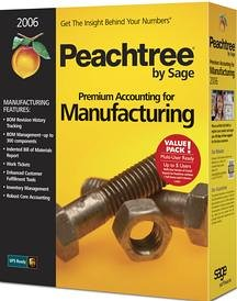 Peachtree Premium Accounting For Manufact. 2006 Multi-User
