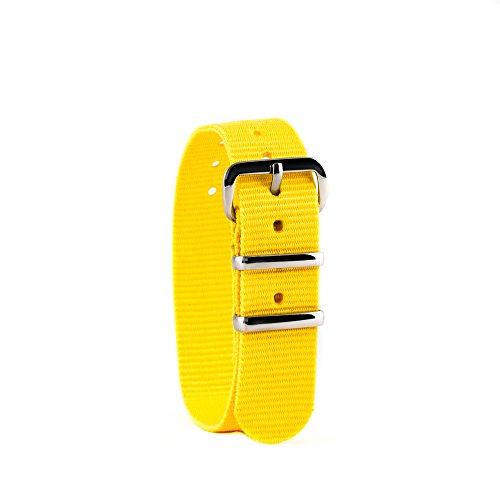 EasyRead time teacher WS-Y Uhrenarmband, gelb (weitere Farben erhältlich)