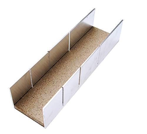 BGS 50860   Boîte à onglets aluminium   245 x 65 x 55 mm