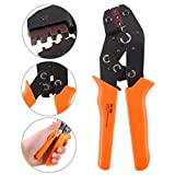 Glarks SN-28B Terminal Professional Pin Crimping Tool for 2.54mm 3.96mm 28-18AWG 0.1-1.0mm2