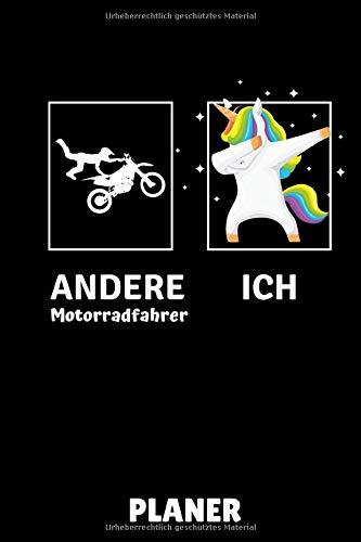 ANDERE MOTORRADFAHRER ICH PLANER: A5 MONATSPLANER Offroad Motorrad   Motorrad fahren   Motorräder Bücher   Motorradreisen   Motorsport   Geschenkidee für Erwachsene Jugendliche