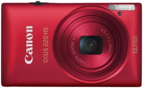 Canon Ixus 220 Hs Digitalkamera 2 7 Zoll Silber Kamera