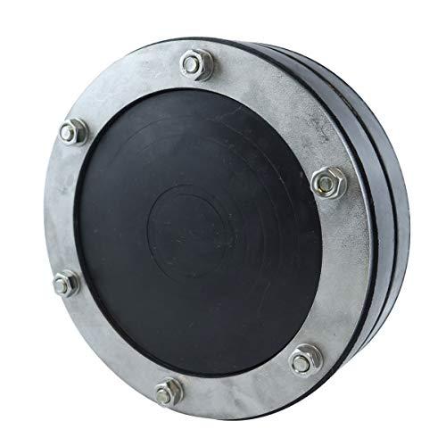 WITTKOWARE 150 mm Ringraumdichtung/Mauerdurchführung für 1 Kabel/Rohr 32-110mm, für Kernbohrung oder Rohr Ø 150mm