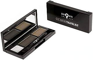 BRONX COLORS Urban Cosmetics EBTK03 Eyebrow Travel Kit Dark Brown (1 x 3.2 g)