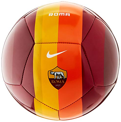 Nike Roma NK SKLS-FA20, Pallone da Calcio Unisex Adulto, Team Crimson/Dark Team Red/(White), 1