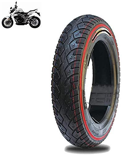 Neumáticos de scooter eléctrico Ruedas duraderas, neumáticos de vacío 3.00-10, bordes de color 6pr, neumáticos antideslizantes, resistentes al desgaste, estables y cómodos, y transitabilidad fuerte